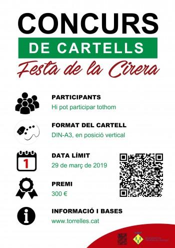 Cartell concurs cartells Festa Cirera 2019